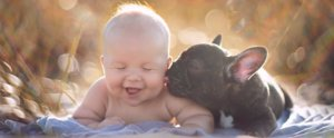 Baby and French Bulldog Are the Sweetest Pair of Friends We've Ever Seen