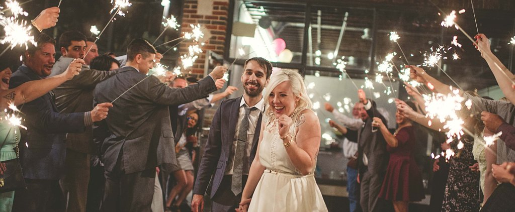This Quirky Wedding Looks Like a Superfun Party — We're Having FOMO