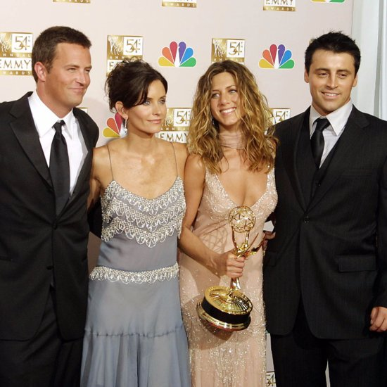Matthew Perry & Matt LeBlanc Miss Jennifer Aniston's Wedding