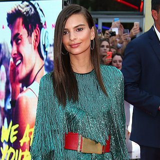 Emily Ratajkowski's Premiere Dress Is the Perfect Antidote to the Naked Dress Trend