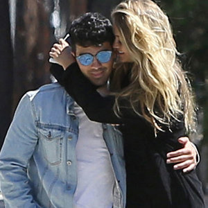 Pictures of Gigi Hadid and Joe Jonas PDA in LA August 2015