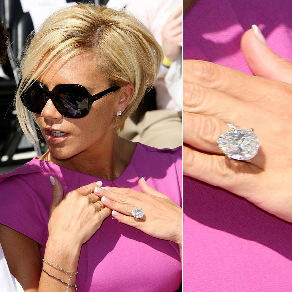 Enormous Celebrity Engagement Rings | PEOPLE.com