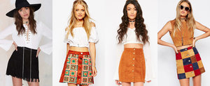 These Suede Skirts Will Make You Dig That '70s Vibe