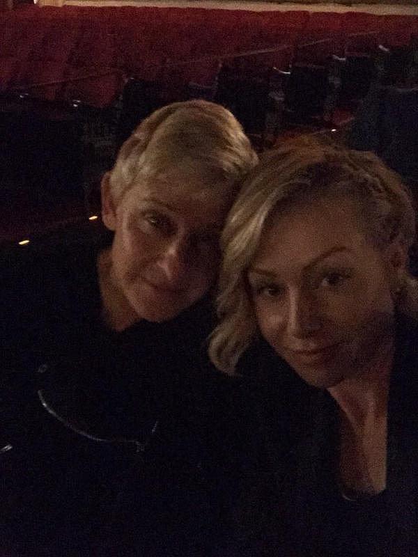 Ellen and Portia snuck in a selfie at the screening of Selma in December 2014.