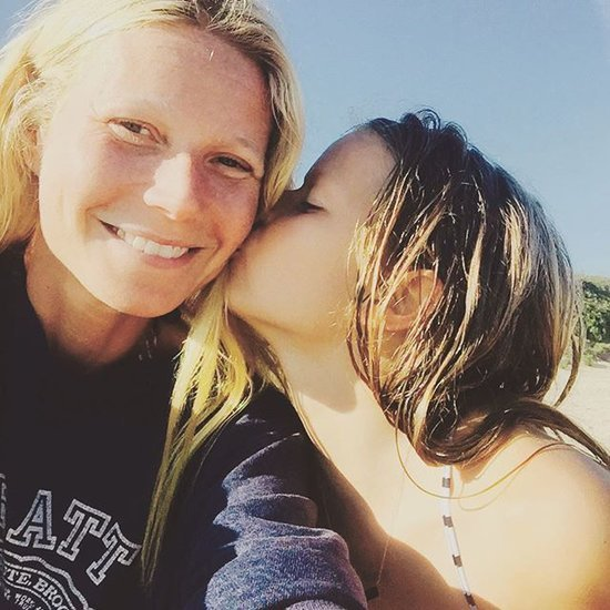 Gwyneth Paltrow Posts Beach Picture With Apple Martin