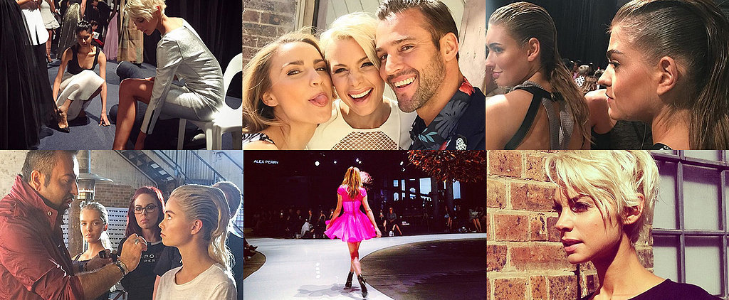 Go Behind the Scenes at Myer's Star-Studded Fashion Show