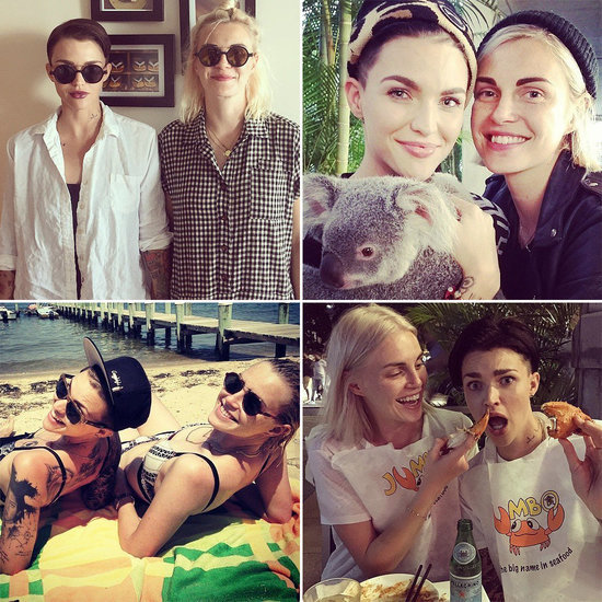Ruby Rose and Phoebe Dahl Cute Pictures