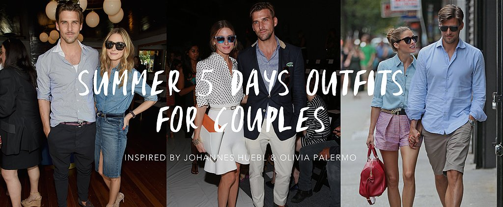 Summer 5days Outfits for Couples