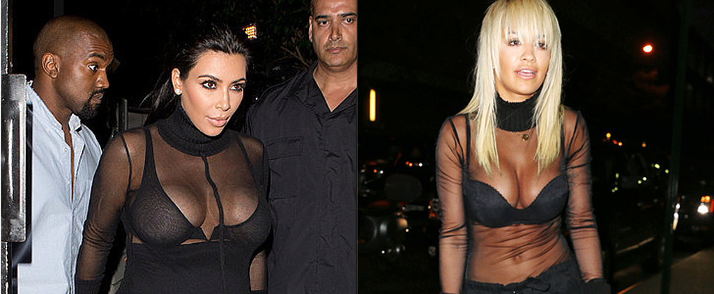 Kim Kardashian and Rita Ora Changed Everything We Thought We Knew About Turtlenecks