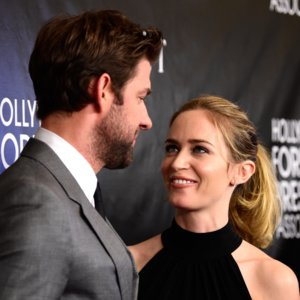Emily Blunt, John Krasinski Red Carpet Pictures August 2015