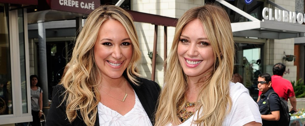 How Hilary and Haylie Duff Support Each Other as Moms