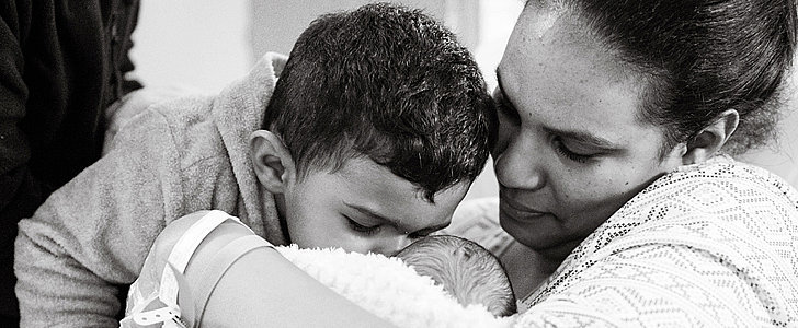 You Have to See the Emotional Photos of a Little Boy Meeting His New Baby Brother
