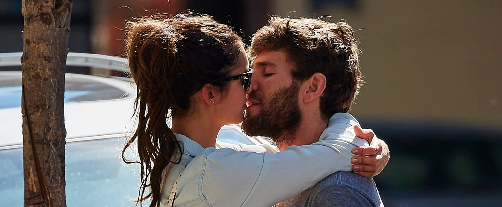 Nina Dobrev and Her Hot New Man Show Supersteamy PDA on the Street