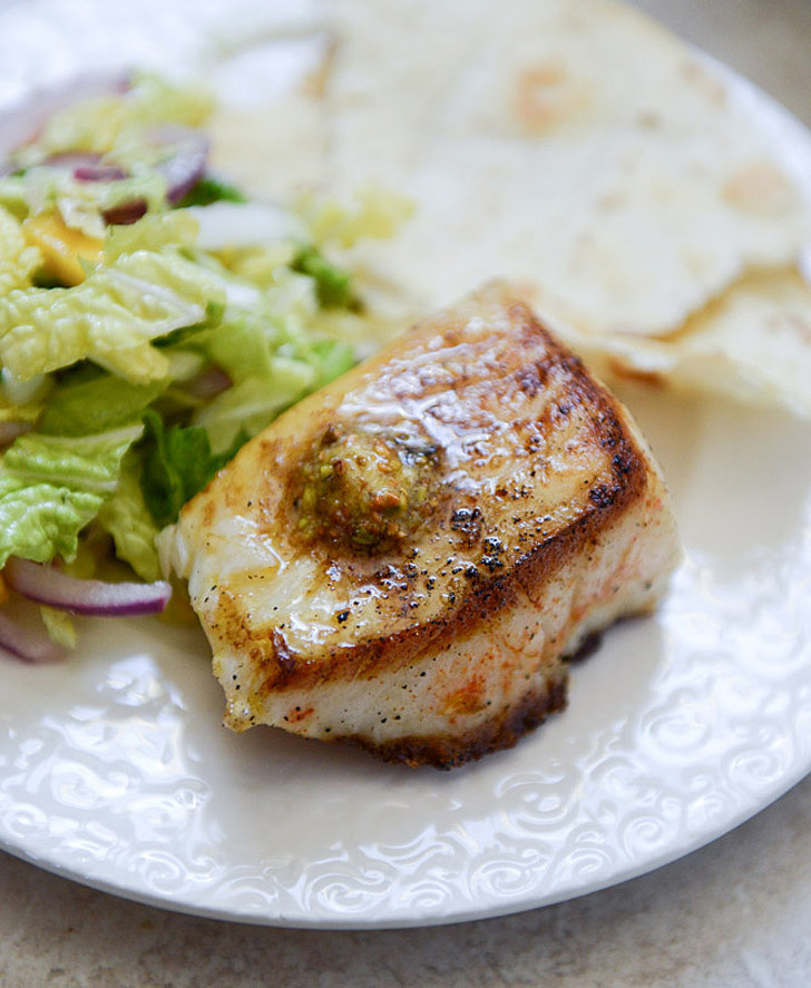 Seared Sea Bass With Pistachio Butter | Your Ultimate Seafood Recipes ...