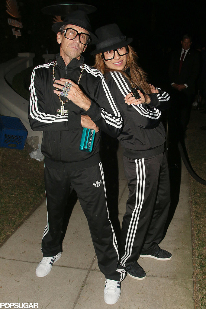 In 2014, Brian Grazer attended the Casaamigos Halloween party in LA as Run-DMC.