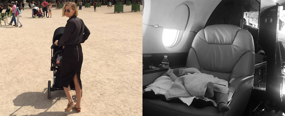 Lara Worthington Has Been Sharing the Sweetest Snaps of Baby Rocket