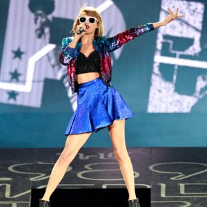 Taylor Swift Dedicates Song to Godson During Concert Video