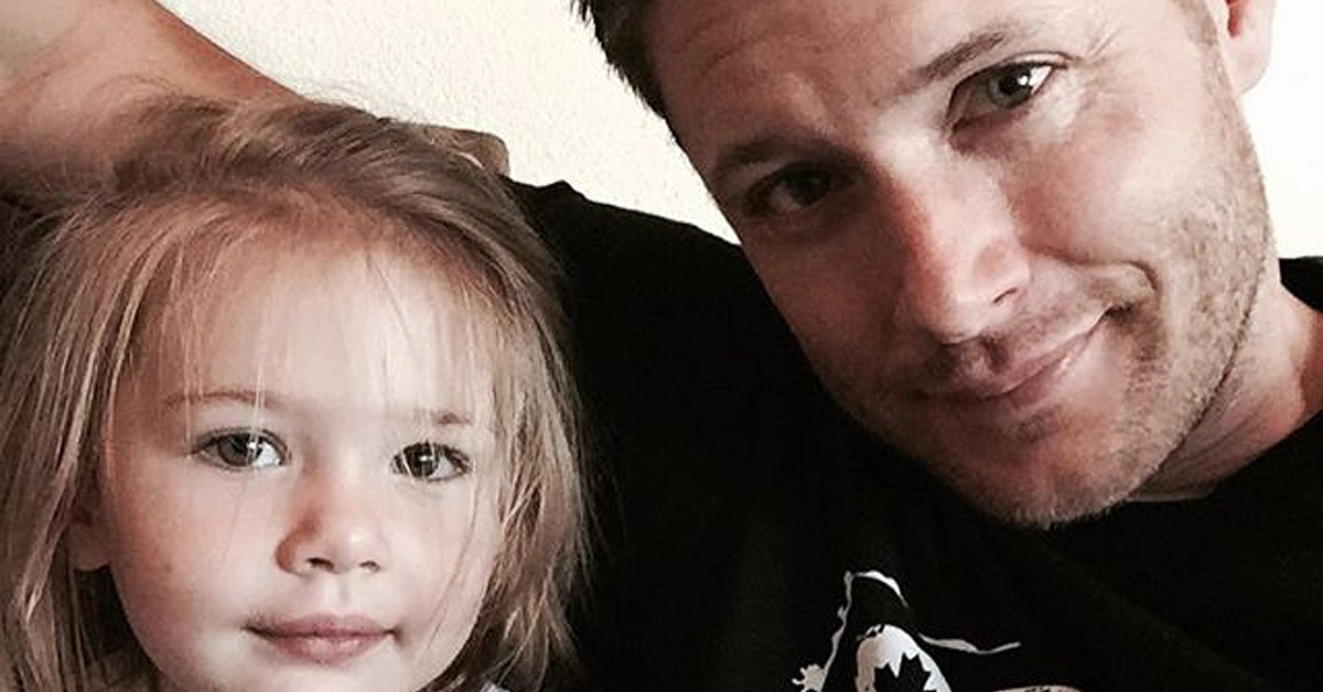 Jensen ackles s family photos on instagram and facebook popsugar