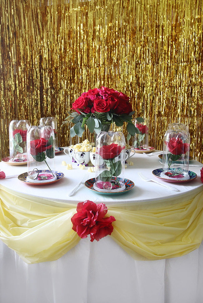 Beauty and the Beast DIY Birthday Party