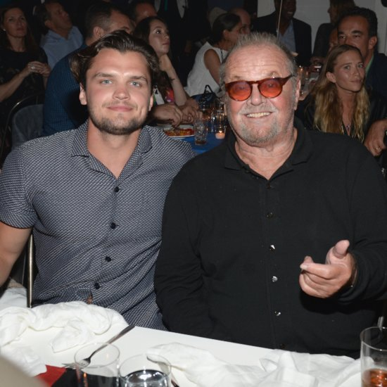 Jack Nicholson and Son Ray Look-Alike Photo