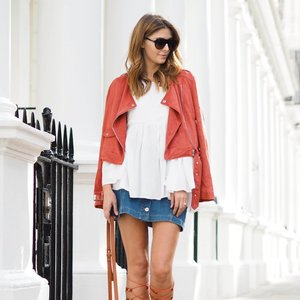 Suede Inspiration from Fashion Bloggers