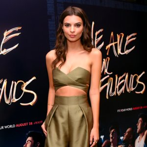 Emily Ratajkowski We Are Your Friends Red Carpet Style