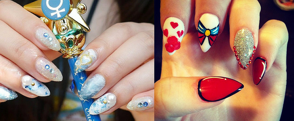 15 Sailor Moon Nail Art Ideas For an Out-of-This-World Manicure