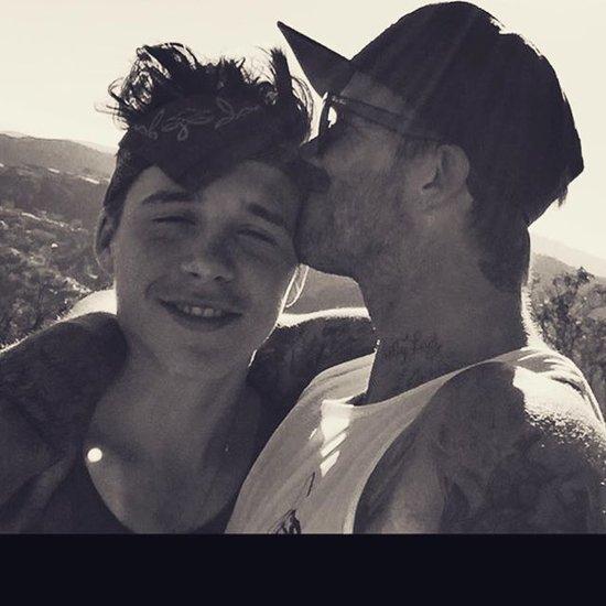 David Beckham Shares Cute Instagram Photo With Son Brooklyn