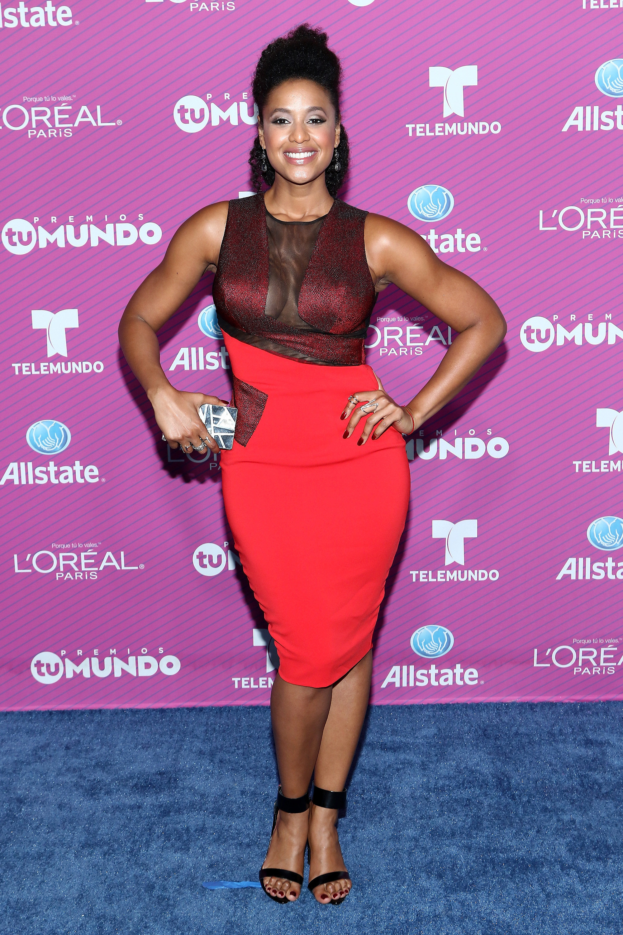 Jeimy osorio see all the style from the blue carpet at the 2015