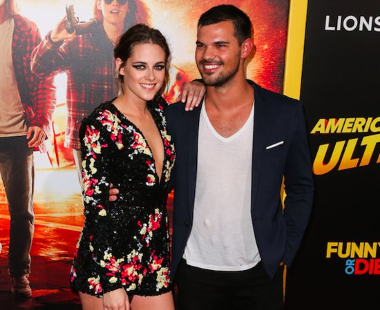 Kristen Stewart Reunites With Taylor Lautner -- But Dashes all Your 'Twilight' Dreams