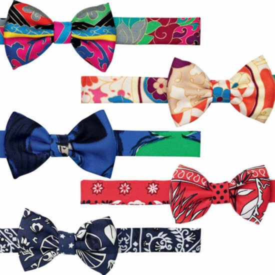 Feminine Bow Ties Are Now a Thing, Thanks to Hermès