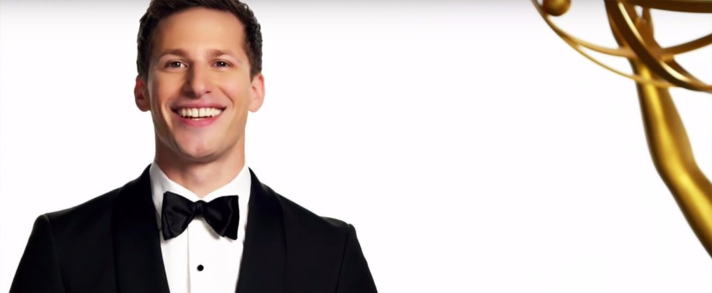 Andy Samberg Is Already Our Favorite Emmy Host With This Video