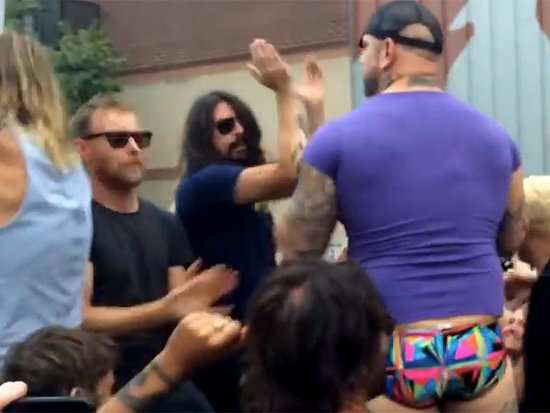 Foo Fighters 'Rick Roll' Westboro Baptist Church Outside Concert
