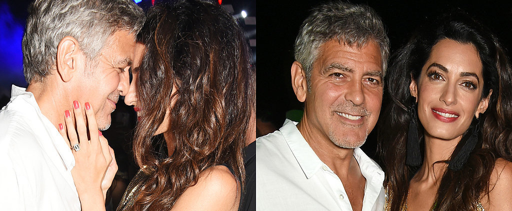 Brace Yourself For George and Amal Clooney's Crazy-Sexy Date Night