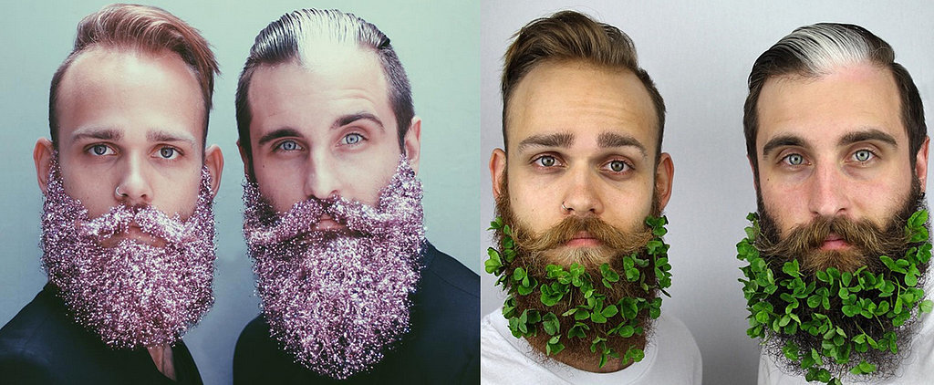 You'll Never Believe How These 2 Friends Accessorize Their Beards