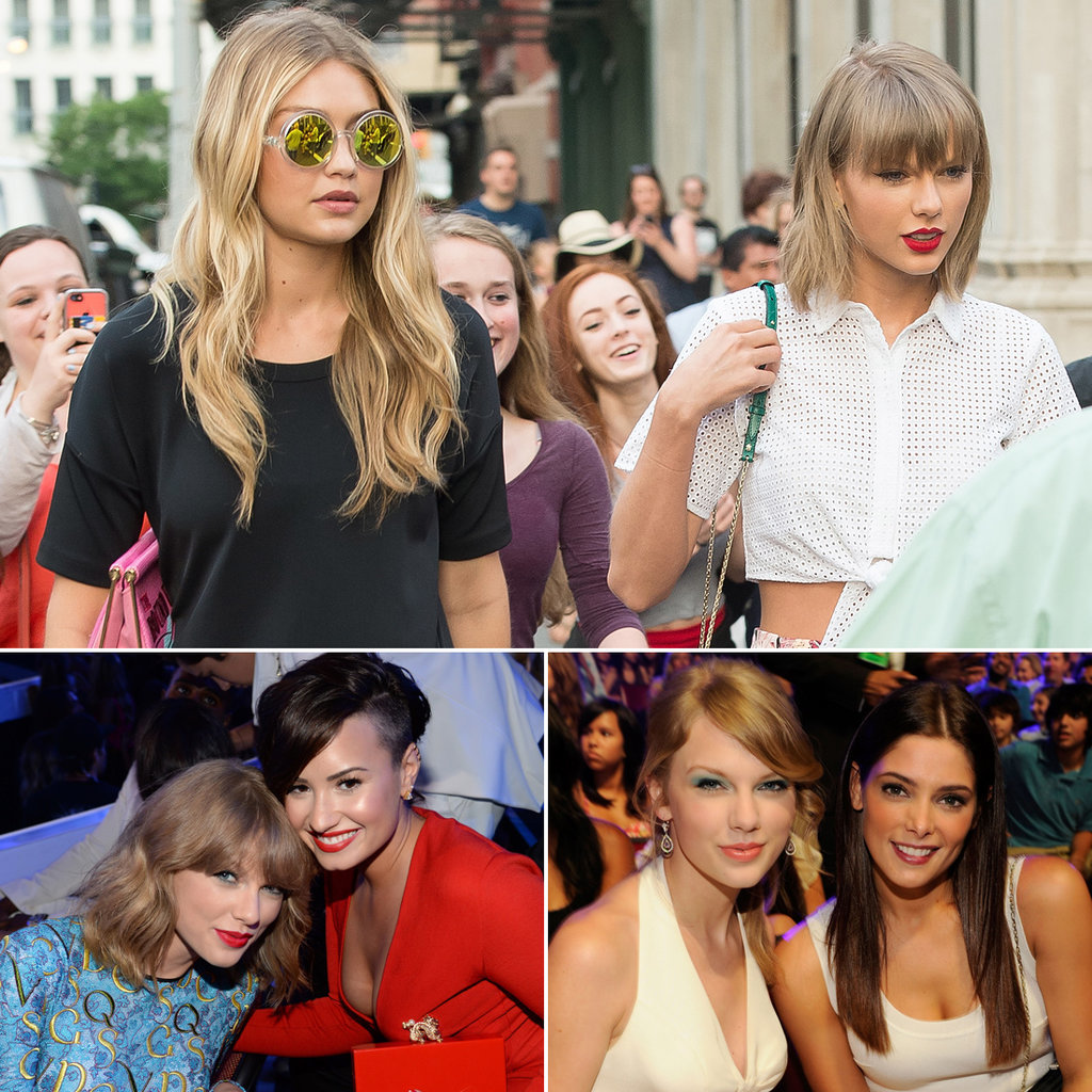 Taylor Swift, Gigi Hadid, Demi Lovato, and Ashley Greene All Dated . . .