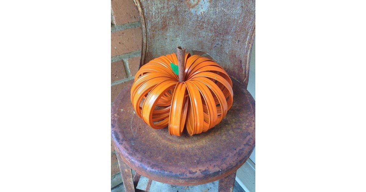 Mason Jar Lid Pumpkin Get Inspired By These Creative