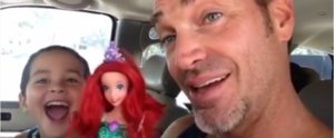You Have to See How This Dad Reacts to His Son Choosing an Ariel Doll For His Birthday