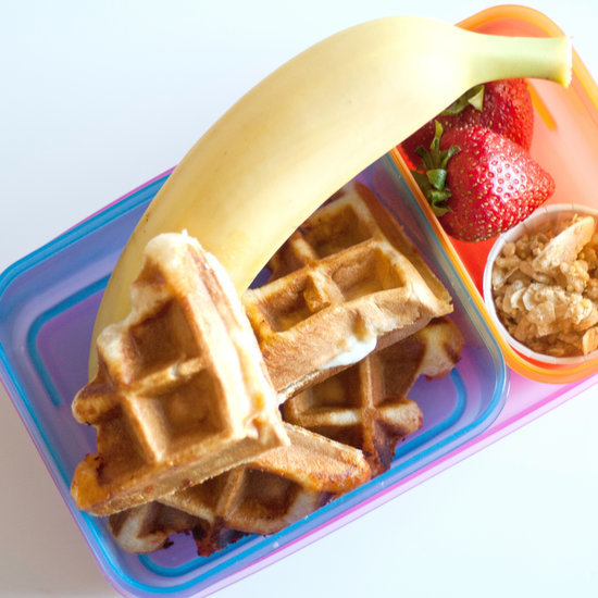 Surprise Your Child With Pizza Waffles For Lunch