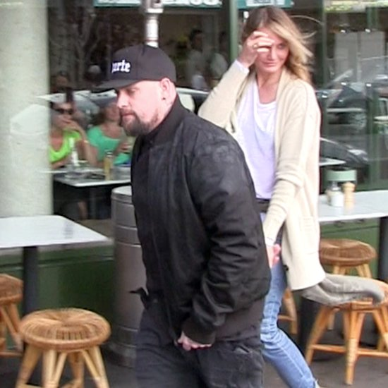 Cameron Diaz and Benji Madden at Breakfast in Australia