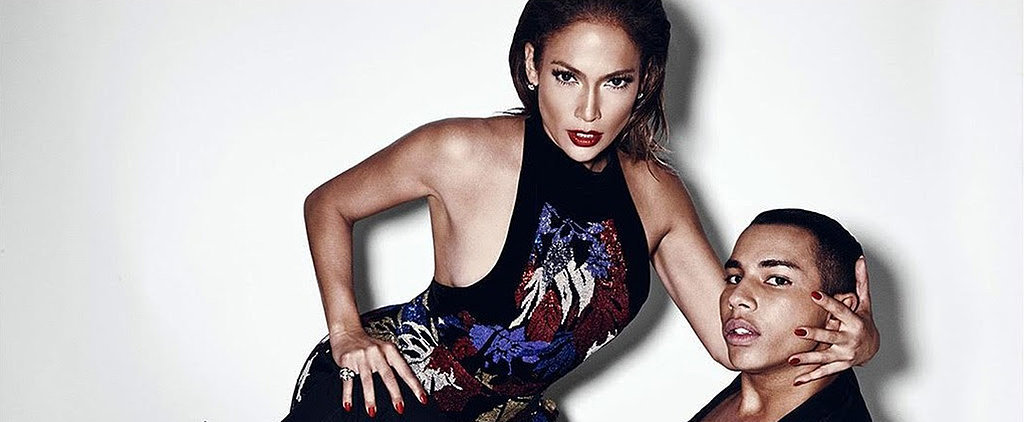 These Photos Prove Jennifer Lopez Is Balmain's Hottest Muse Ever