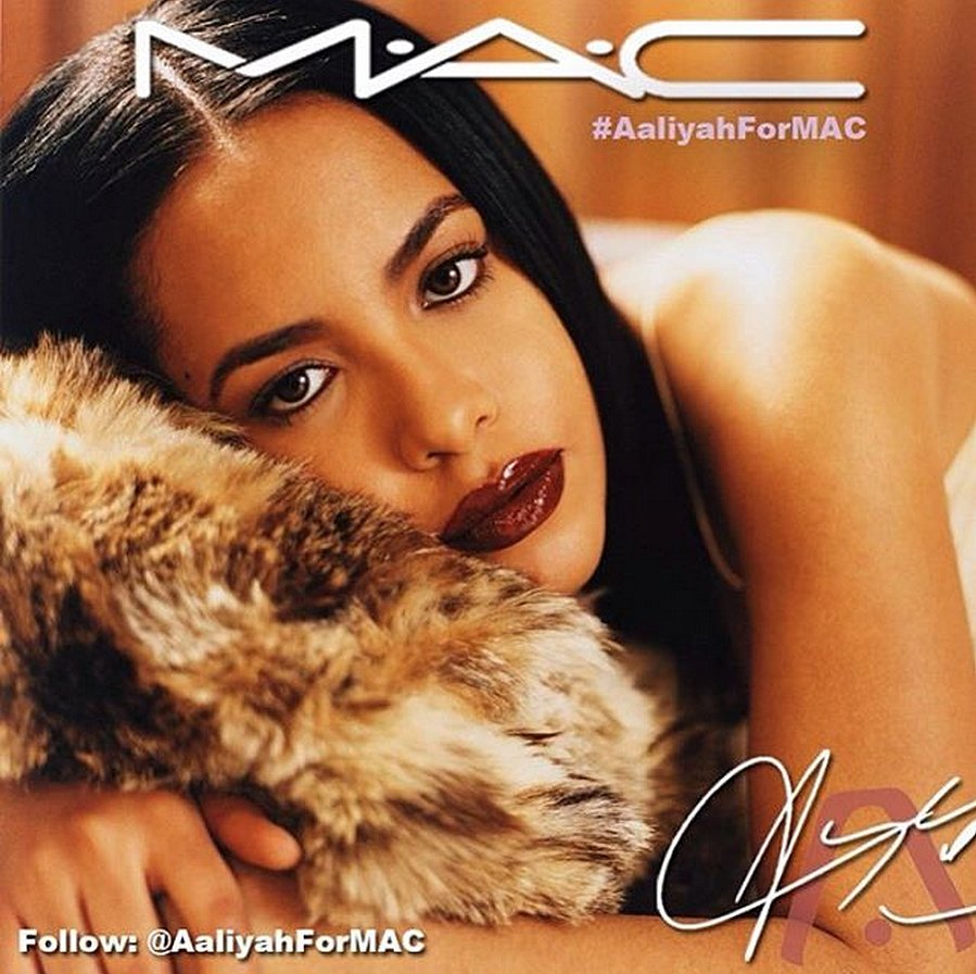 Would You Buy Aaliyah For MAC Makeup?