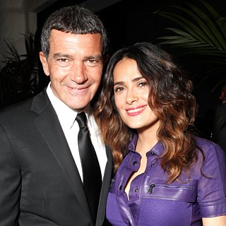 Throwback Picture of Antonio Banderas and Salma Hayek