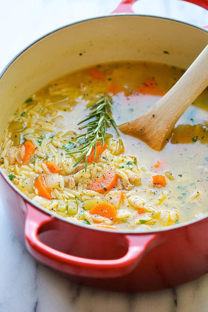 Lemon Chicken Orzo Soup | 78 Easy Dinners That Won't Break ...