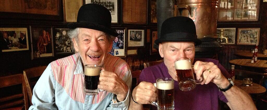 15 Pics That Prove Patrick Stewart and Ian McKellen Are True Soul Mates