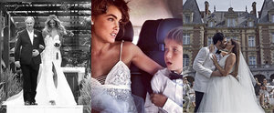 The Most Beautiful Celebrity Wedding Dresses on Instagram