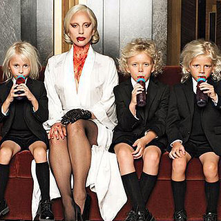 Lady Gaga Tweets a Picture With American Horror Story Kids