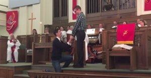 Man Proposes To Boyfriend At Church, Church Responds Perfectly