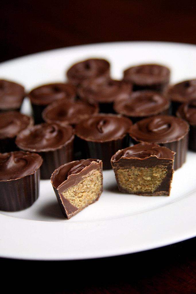 Mini Chocolate Sunbutter Cups
