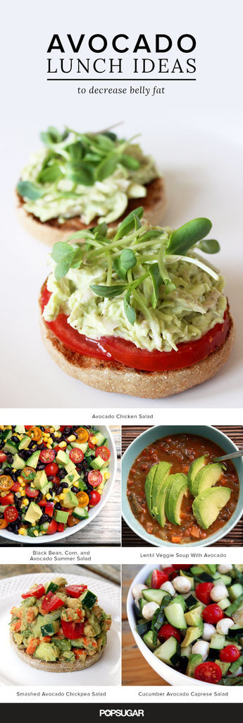 Tummy-Trimming Avocado Lunch Recipes